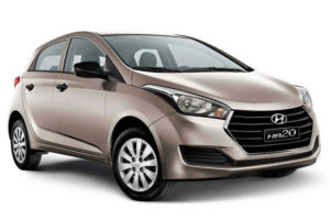 HYUNDAI HB20 - Carro para Cabify